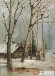 Savrasov Alexei. Cottage in the Woods