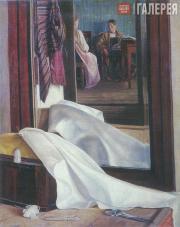 Grigory SOROKA. Reflection in a Mirror. Second half of the 1840s