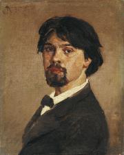Surikov Vasily. Self-portrait. 1879