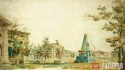 Ф.Я.АЛЕКСЕЕВ. Площадь в Херсоне. 1796–1797