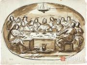Yegorov Alexei. Last Supper. 1820s