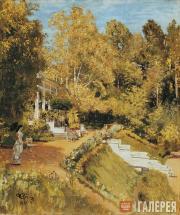 Repin Ilya. Abramtsevo. 1880