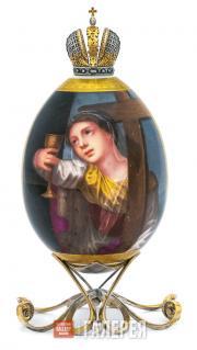 Яйцо пасхальное «Аллегория веры»
