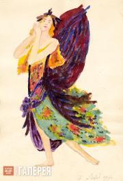 Эскиз костюма к балету «Лебединое озеро» П.И.Чайковского. [1912]
