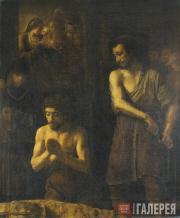 Школа Рембрандта. Усекновение главы Иоанна Крестителя