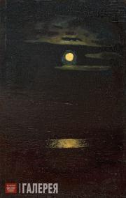 Kuindzhi Arkhip. Moonlight Night. 1890s