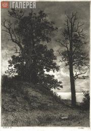 Shishkin Ivan. Little Oaks near Sestroretsk. 1857