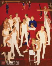 Zhilinsky Dmitry. Gymnasts of the USSR. 1964–1965