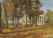 Pyotr PETROVICHEV. In Neskuchny Garden. 1915