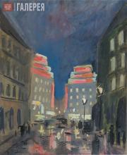 Falk Robert. Night in Paris. 1930s