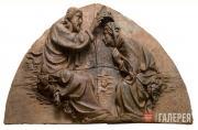 Delli Dello (1403-after 1466). The Coronation of the Virgin. c. 1420-1424