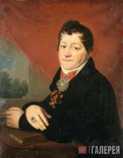 Vladimir  Borovikovsky. Portrait of Sergei Yakovlev. c. 1805