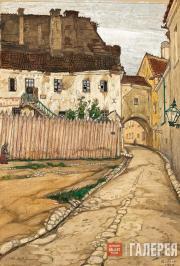 Dobuzhinsky Mstislav. Vilno. Lane. 1906