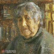 Яблонская Татьяна Ниловна. Автопортрет. 1995