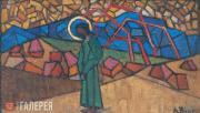 Volkov Alexander. Christ in the Wilderness. 1914