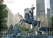 Церетели Зураб. Монумент «Добро побеждает Зло». 1990