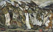 Soutine Chaim. Houses. Circa 1920-1921