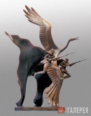 Bezborodova Yelena. They Turned into White Cranes. 2005