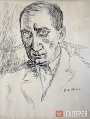 Giorgio de Chirico. Portrait of Iliazd. 1927