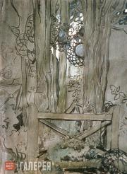 Yakunchikova Maria. Cypress Sepulchre (Meudon). 1898