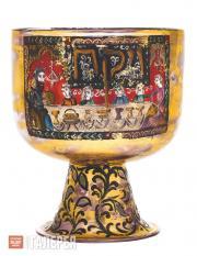 Чаша для Праздника Песах с живописной композицией