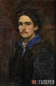 Ivanov Viktor. Self-portrait. 1943