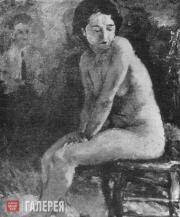 Верховская Татьяна. Обнаженная. 1935
