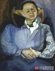 Soutine Chaim. Portrait of the Sculptor Oscar Miestchaninoff. 1923-1924