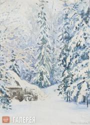 Polenova Yelena. Winter. 1888