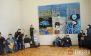 Назаренко Татьяна. Общий вид инсталляции «Переход». 1995–1996