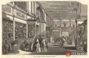 Interior of the Ceramic Court, the Crystal Palace, Sydenham. 1856
