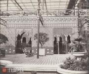 Деламотт Ф.Г. Дворик в Альгамбре. Хрустальный дворец в Сиднеме. 1854