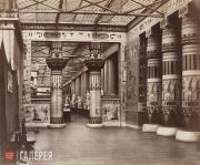 Деламотт Ф.Г. Египетский дворик. Хрустальный дворец в Сиднеме. Середина XIX века