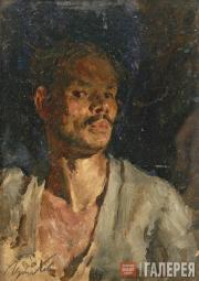 Viktor Tsyplakov. Self-portrait. 1943