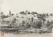 Polenov Vasily. The Polenov Family Estate at Imochentsy. 1873