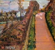 Yakunchikova Maria. Spring Approaches. Two Roads. 1895