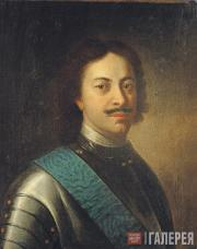 Portrait of Peter I. First half of the 18th century
