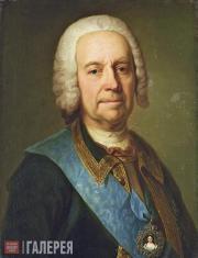 Unknown artist. Portrait of Count Andrei Ivanovich Ushakov. First half of the 18