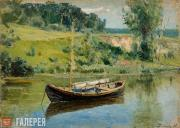 Polenov Vasily. A Boat. 1880