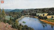 Polenov Vasily. The Oyat River. 1886
