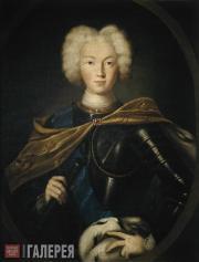 Portrait of Emperor Peter II. First half of the 18th century