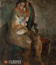 Falk Robert. Nude in an Armchair. 1922-1923