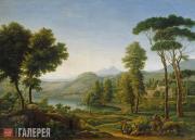 Matveyev Fyodor. Italian Landscape. 1806