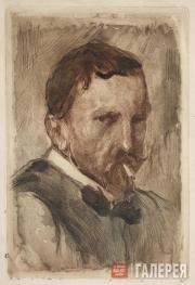 Serov Valentin. (?) Self-portrait. 1909