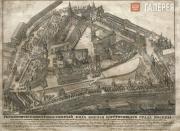 "Etching ""The Kremlin"". 1810s"