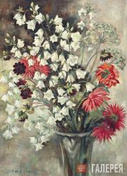 Lang Yevgenia. Countryside Bellflowers. 1960s
