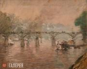Kouznetzoff Constantin. Pont des Arts. c. 1921-1924