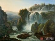 Matveyev Fyodor. Waterfalls Near Rome. 1806