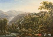 Matveyev Fyodor. A View in Italy. 1805