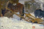 Korzhev Gely. A horse in winter. 1942